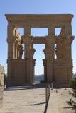 Tempel von Philae in Ägypten Stockbild