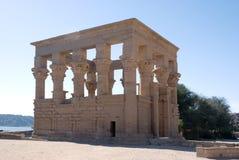Tempel von Philae Stockfotos