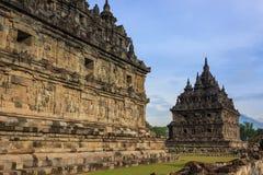 Tempel von plaosan Stockfoto