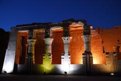 Tempel von Ptolemäus komombo Stockfotografie