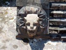 Tempel von Quetzalcoatl Lizenzfreie Stockbilder