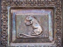 Tempel von Ratten, Rajasthan, Indien Lizenzfreies Stockfoto