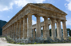 Tempel von Segesta Lizenzfreie Stockfotografie