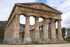 Tempel von Segesta stockfotografie