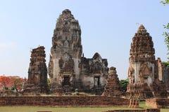 Tempel von siamesischem Stockbilder