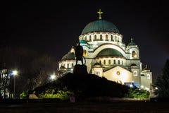 Tempel von St. Sava, Belgrad, Serbien lizenzfreie stockfotos