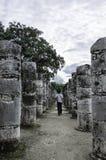 Tempel von tausend Kriegern Lizenzfreie Stockfotografie
