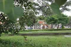 Tempel von Thailand Stockbild