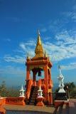 Tempel von Thailand errichteten mit Glauben Stockbild