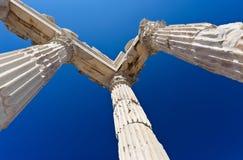 Tempel von Trajan Stockbilder