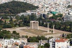 Tempel von Zeus Stockbild