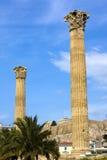 Tempel von Zeus, Olympia, Griechenland stockfotografie