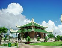 Tempel voor nationale held Stock Foto