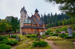 Tempel Wang i Karpacz Fotografering för Bildbyråer