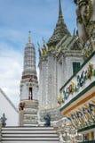 Tempel Wat Arun in Bangkok Stockbild