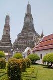 Tempel Wat Arun i Bangkok Fotografering för Bildbyråer