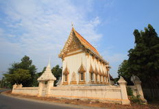 Tempel in Wat Ban Wa Stock Foto