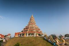 Tempel wat hyua Winkel- des Leistungshebelskang Stockbild