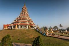 Tempel wat hyua Winkel- des Leistungshebelskang Lizenzfreies Stockbild