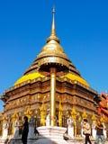 Tempel Wat Phra That Lampang Luang Royaltyfri Foto