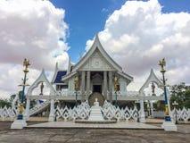 Tempel in Wat Phra Phutthabat Yasothon Royalty-vrije Stock Afbeelding