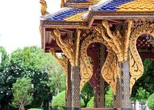 Tempel Wat Phrasrirattana Sasadaram Stockbilder