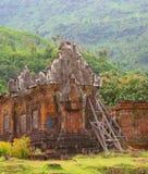 Tempel Wat Phu in Champasak Laos Lizenzfreie Stockbilder