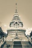 Tempel Wat Prathat Doi Saket Buddhas Thailand Stockbild