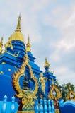 Tempel Wat Rong Suea Ten Rong Suea zehn oder blauer Tempel Lizenzfreies Stockbild