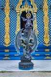 Tempel Wat Rong Suea Ten Rong Suea zehn oder blauer Tempel Stockbilder