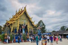 Tempel Wat Rong Suea Ten Rong Suea zehn oder blauer Tempel Stockfotos