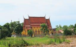 Tempel in Wat Sai Ngam Stock Foto