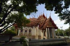 The Tempel Wat Thung Si Meuang. The Tempel Wat Si Ubon Rattanaram in the city of Ubon Ratchathani in the provinz of Ubon Rachathani in the Region of Isan in Stock Photo
