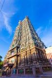 Tempel-Westturm-Flugsteig V Madurais Meenakshi Amman Lizenzfreies Stockfoto