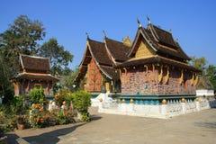 Tempel Xieng Zapfen Lizenzfreie Stockfotos