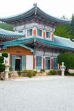 Tempel Youngang morgens - Korea Stockfoto