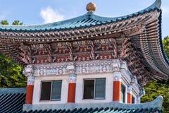 Tempel Youngang morgens - Korea Stockfotos