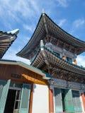 Tempel Youngang morgens - Korea Lizenzfreies Stockfoto