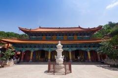 Tempel Yuantong Kunming am sonnigen Tag, Hauptstadt Kunmings von Yu stockbild