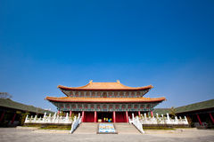 Tempel zu Konfuzius Stockfotos