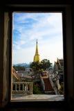 Tempel in zuiden van Thailand Stock Afbeeldingen
