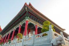 Tempelart des traditionellen Chinesen stockfotografie