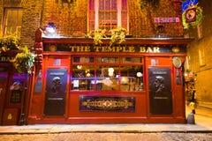 Tempelbar Dublin Stock Afbeelding