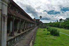 Tempelboden von Kambodscha Stockfotos