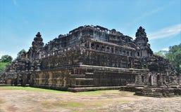 Tempelboden von Kambodscha Lizenzfreies Stockfoto