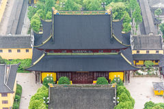 Tempelbouw royalty-vrije stock afbeelding