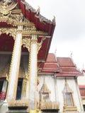 TempelbuddistThailand kultur asia arkivbild