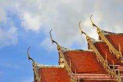 Tempeldächer Stockfoto