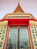 Tempeldörr Fotografering för Bildbyråer