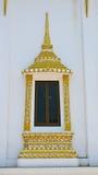 Tempeldörr i Thailand Royaltyfri Foto